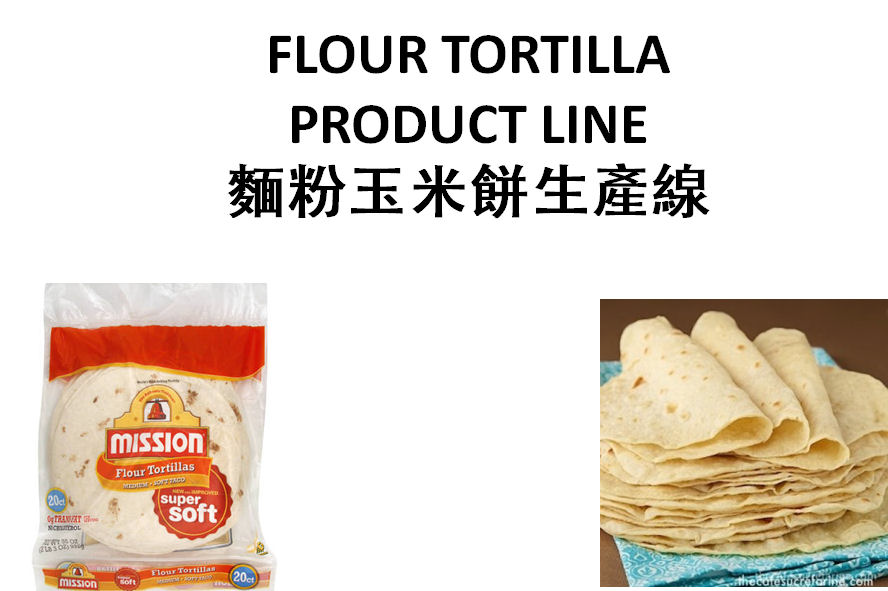 Flour Torilla Production Line